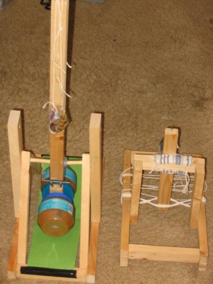 how to build a mangonel catapult